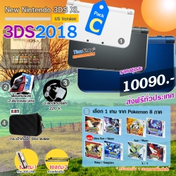 Promotion new3DSXL 【3DS2018#Pack C】 ราคา >> Best Price 10090.- ส่งฟรี