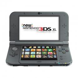 เครื่อง New 3DS XL Black สีดำ (Hit)
