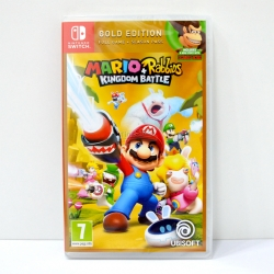 NSwitch Mario + Rabbids: Kingdom Battle [Gold Edition] Zone EU / English ราคา 1790.-