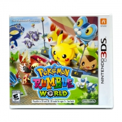 3DS™ Pokemon Rumble World Zone US / English Sales!!