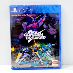 PS4 New Gundam Breaker Zone 3 Asia / Subtitles: English ราคา 1890.- // ส่งฟรี