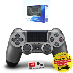 DUALSHOCK®4 Wireless Controller :: Steel Black CUH-ZCT2G 21 (สีดำเงา)