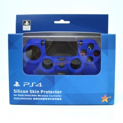 ซิลิโคนจอยของแท้ Silicon Skin Protector for DUALSHOCK®4 [สีน้ำเงิน] ราคา 590.- // ส่งฟรี EMS