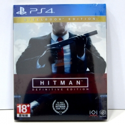 PS4™ The Hitman: Definitive Edition [Steelbook] Zone 3 Asia / English ราคา 1590.-