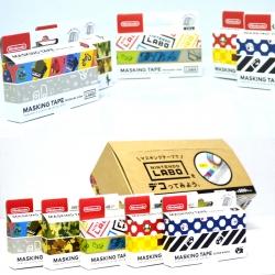 สติกเกอร์ 5 แบบ ++ Nintendo Labo Masking Tape (Assorted Set) สินค้าใหม่