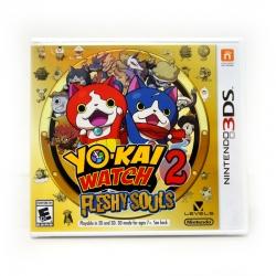 3DS (US) Yo-Kai Watch 2: Fleshy Souls Zone US / English Version