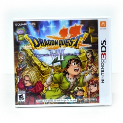 3DS (US) Dragon Quest VII: Fragments of the Forgotten Past Zone US / English Version