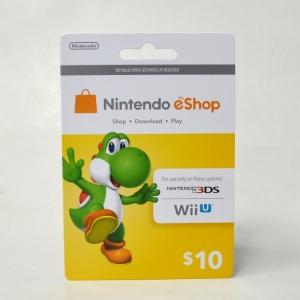 บัตรเติมเงิน eShop (US) 10$ 18-01-2018