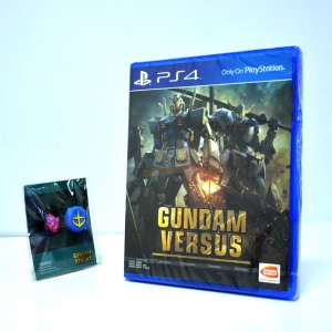 PS4™ Gundam Versus (PLAS 10029) Zone 3 Asia / English * Free ครอบปุ่ม Gundam Versus ของแท้