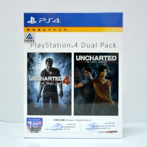 PS4™ Dual Pack (2 Games) Uncharted 4 / Unchated The Lost Legacy แพ็คละ @ 1890.- (ส่งฟรี) * เกมดีทั้งคู่ *