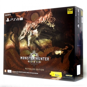 PlayStation®4 Pro MONSTER HUNTER : WORLD RATHALOS EDITION Zone Asia ประกันศูนย์โซนี่ไทย ราคา 19500.- // ส่งฟรี