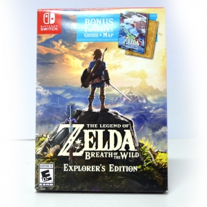 Nintendo Switch™ The Legend of Zelda: Breath of the Wild [Explorer's Edition] Zone US / English ราคา 2290.-