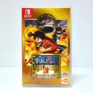 วันพีช ++ Nintendo Switch One Piece: Pirate Warriors 3 [Deluxe Edition] Zone Asia / English ราคา 1690.-