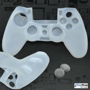 ซิลิโคนหุ้มจอย PS4 + 2 TPU ปุ่ม