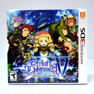 3DS™ Etrian Odyssey V: Beyond the Myth Zone US / English ราคา 1450.-