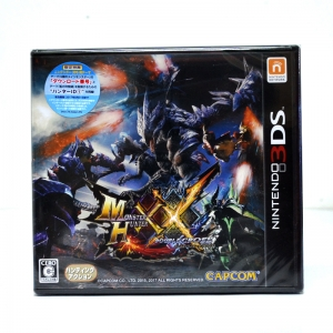 3DS™ (JP) Monster Hunter XX Zone JP / Japanese Update 21-07-2017