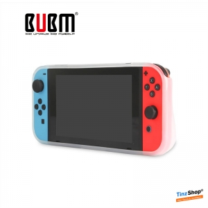 BUBM TPU Case for Nintendo Switch : SWITCH-TP (สีขาวใส)