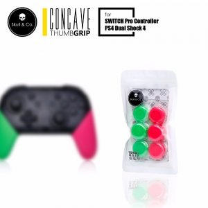 PS4/JOY-PRO Skull & Co. Thumb Grip Set [ฺSplatoon] ราคา 390.- // ส่งฟรี