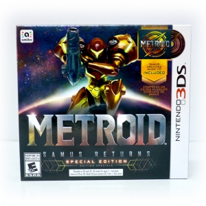 3DS™ Metroid: Samus Returns (Special Edition) Zone US, English ราคา 2190.-
