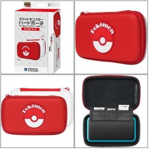 กระเป๋าสีแดง ลิมิเต็ด ลาย Pokemon Monster Ball ยี่ห้อ Hori ของแท้จากญี่ปุ่น (2DS-113) ราคา @ 790.-