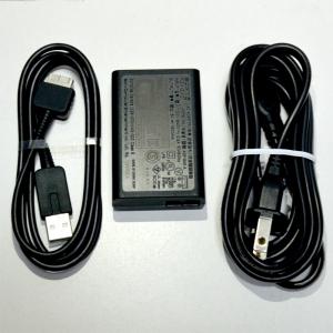 """++ สาย USB, สายไฟและแดปเตอร์ (3ชิ้น) ++ PS Vita™ USB Cable, AC Adapter and Power Cord """"ของแท้"""" ครบชุด สำหรับ PS Vita 1000"""