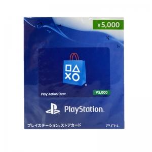 บัตรเติมเงิน PSN (JP) 5000 เยน 12-01-2018