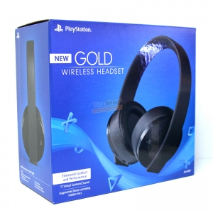 PS4 New Gold Wireless Headset for PS4 and PS VR (CUHYA-0080) ราคา 3890.- // ส่งฟรี