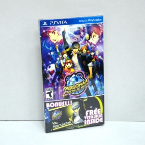 PSVita Persona 4: Dancing All Night Zone 1 US / English version *Box Set Launch Edition / Free!! Vita Skin inside