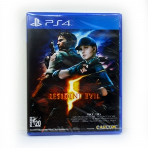 PS4™ Resident Evil 5 zone1 us , Zone 3 Asia/ English Version