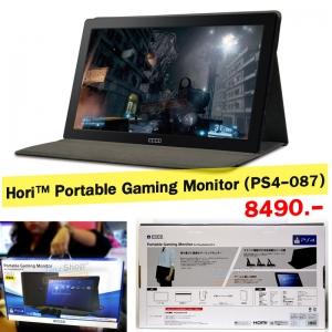 """จอมอนิเตอร์ สำหรับเกมเมอร์ ++ Hori™ Portable Gaming Monitor (PS4-087) ยี่ห้อ HORI จากญี่ปุ่น ขนาด 15.6"""" ราคา 8490.-"""
