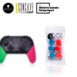 PS4/JOY-PRO Skull & Co. Thumb Grip Set [ฺNeon] ราคา 390.- // ส่งฟรี