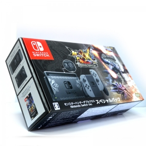 Nintendo Switch (Monster Hunter XX Special Pack) (22-09-2017)