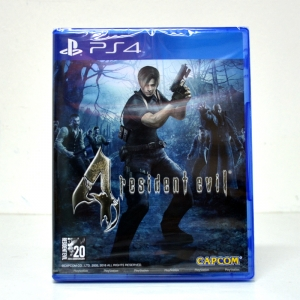PS4™ Resident Evil 4 (Biohazard 4) Zone 1 us , zone 2 eu , zone 3 Asia / English