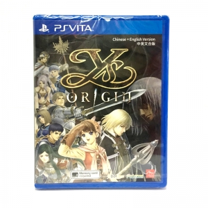 PSVita YS Origin Zone 3 Asia / English ราคา 1190.-