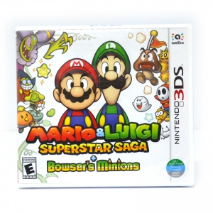 3DS™ Mario & Luigi: Superstar Saga + Bowser's Minions Zone US / English