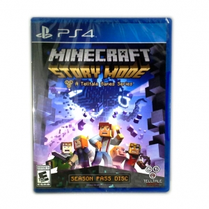 PS4 Minecraft: Story Mode - A Telltale Games Series (Season Pass Disc) Zone 1 US (All Mode) English