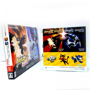 3DS™ Pokemon Ultra Sun Ultra Moon Double Pack Zone JP / Japanese, English ราคา 3290.-
