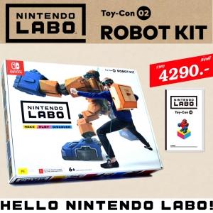LABO ชุดหุ่นยนต์ (กล่องเดี่ยว) ++ Nintendo LABO Toy-Con 02 ROBOT KIT ชุดละ 4290.- ส่งฟรี
