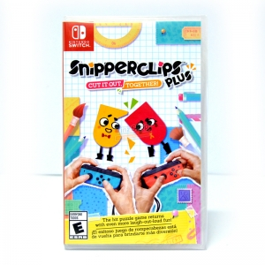 Nintendo Switch™ Snipperclips Plus: Cut It Out, Together! Zone JP เปลียบภาษาได้ ราคา 1190.-