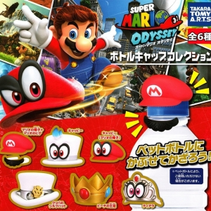 "6 Capsules ""Super Mario Odyssey Bottle Cap Collection"" ชุดละ 790.-"