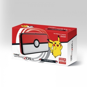 New 2DS XL [Pokeball Edition] Zone Asia / English +แถม 1เกม **