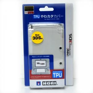 【NEW3DS】 เคส TPU Hori™ ของแท้ สีขาวใส สำหรับ New 3DS ตัวเล็ก (3DS-291)