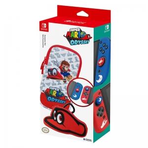 Super Mario Odyssey Accessories Set Official Licensed อุปกรณ์แท้:กระเป๋า,ซิลิโคน ลาย Odyssey ราคา 1290.-