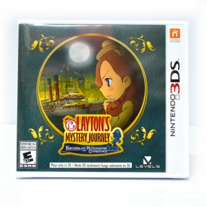 3DS™ Layton's Mystery Journey Zone US, English ราคา 1490.- // ส่งฟรี