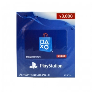 บัตรเติมเงิน PSN (JP) 3000 เยน 12-01-2018