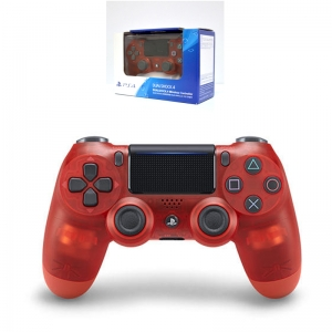 DUALSHOCK®4 Wireless Controller :: Blue Crystal CUH-ZCT2G 18 (สีแดงใส)