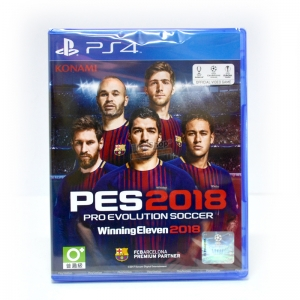 PS4™ Pro Evolution Soccer 2018 ( World Soccer Winning Eleven 2018) ราคา 1890.- ส่งฟรี