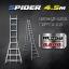 บันไดอลูมิเนียม Spider A 4.5 m thumbnail 1