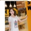 ชุดเดรสแฟชั่นเกาหลี ชุดเดรสแฟชั่น ชุดเดรสน่ารัก ชุดเดรสสั้น คอกลม แขนสั้น เดรสทรงกระบอก พิมพ์ลายน่ารัก ๆ ( X,L ) thumbnail 2
