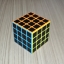 Z-Cube 4x4x4 with black carbon-fibre stickers - Full Bright thumbnail 4